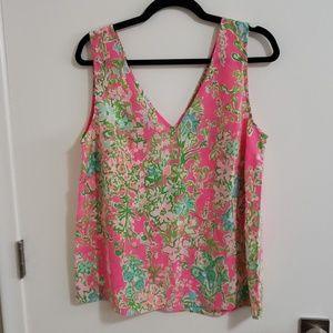 Lilly Pulitzer Cipriani V-neck top